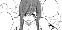 Erza compliments Wendy