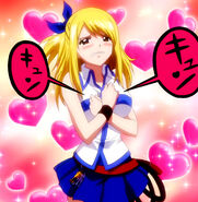 Lucy in love