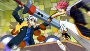 Natsu and Haru clash