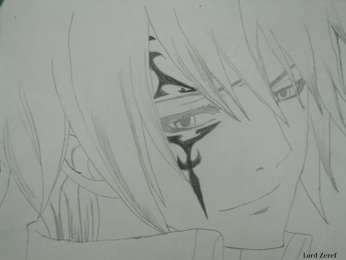 Fanart of Jellal Fernandes by ~~Lord Zeref~~
