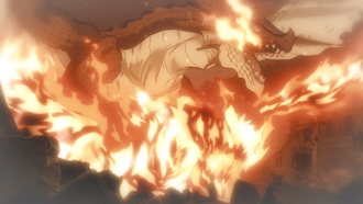Atlas Flame remembers Igneel