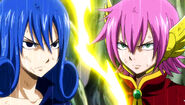 Juvia confronts Meredy