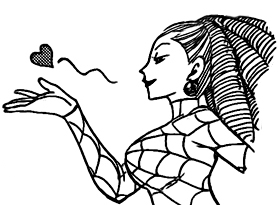 File:Araña greets her fans.jpg
