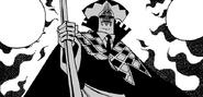 Keyes activating his Curse