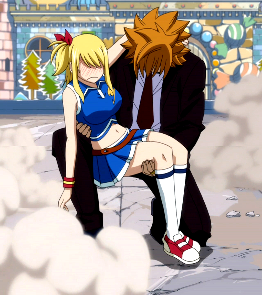 Fairy Tail Leo And Lucy Kiss | www.pixshark.com - Images ...