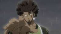 Azuma takes care of troops