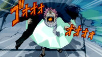 Natsu tells Gray that they both are Fairy Tail mages.jpg