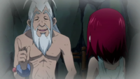 Erza learns about Magic