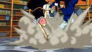 Natsu fights the Vanish Brothers