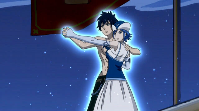 File:Gray and Juvia preparing Unison Raid.jpg
