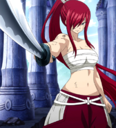 Determined Erza