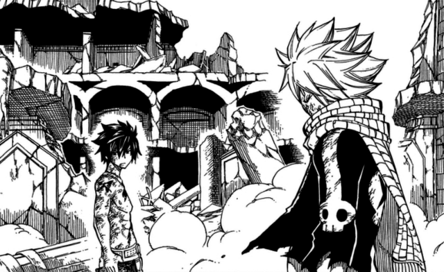 File:Natsu and Gray argue over E.N.D.png