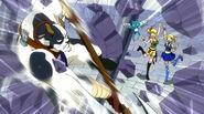 Taurus destroys a Lacrima