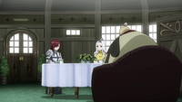 Erza, Mirajane and Crawford discuss the events