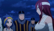 Erza asks about Rescue Team