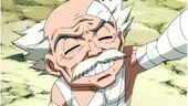 Makarov smiles while holding hands