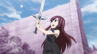 Erza's weakened Magic