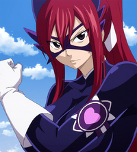 Erza ready to defeat evil