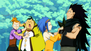 Gajeel and Levy dancing