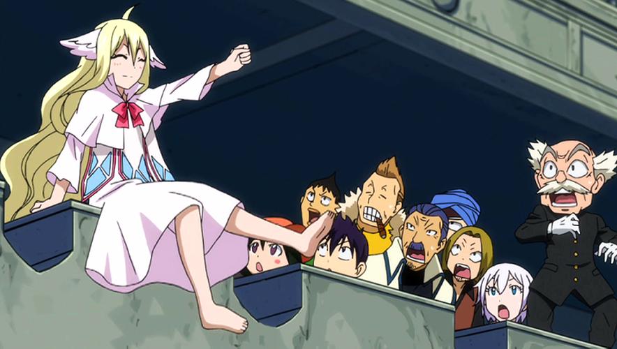 Fairy Tail Mavis Cute Mavis Cheering For Fairy Tail