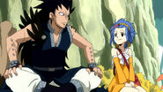 Gajeel and Levy after first