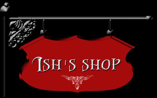 Ish's shop logo
