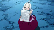 Mirajane brings Makarov news from the council