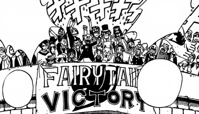 File:Fairy Tail cheers for their team.png