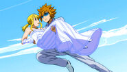 Loke as Lucy's partner