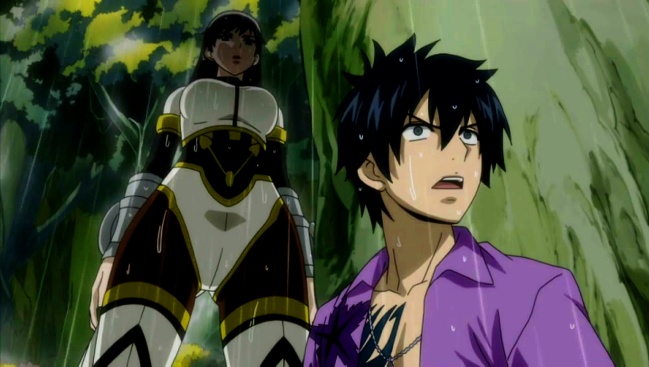 Zeref And Ultear Ultear discovers Gray