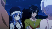 Gray and Juvia Talk about being Healed