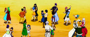 Fairy Tail practising social dance-1-
