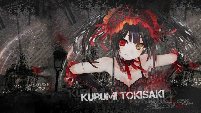 Kurumi tokisaki wallpaper 1360x768 by cuteebunny-d5sn6e8