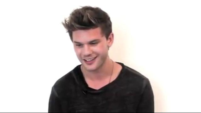 Jeremy Irvine talks Fallen