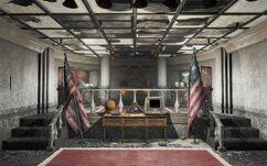 Fo4 location Jamaica Plain Town hall basement treasure room