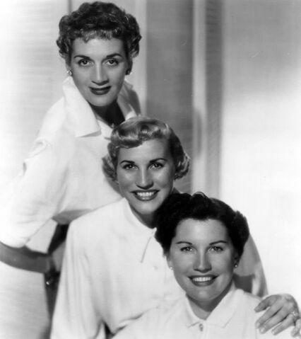 File:The Andrews Sisters 1952.JPG