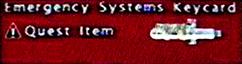 FoBoS emergency systems keycard