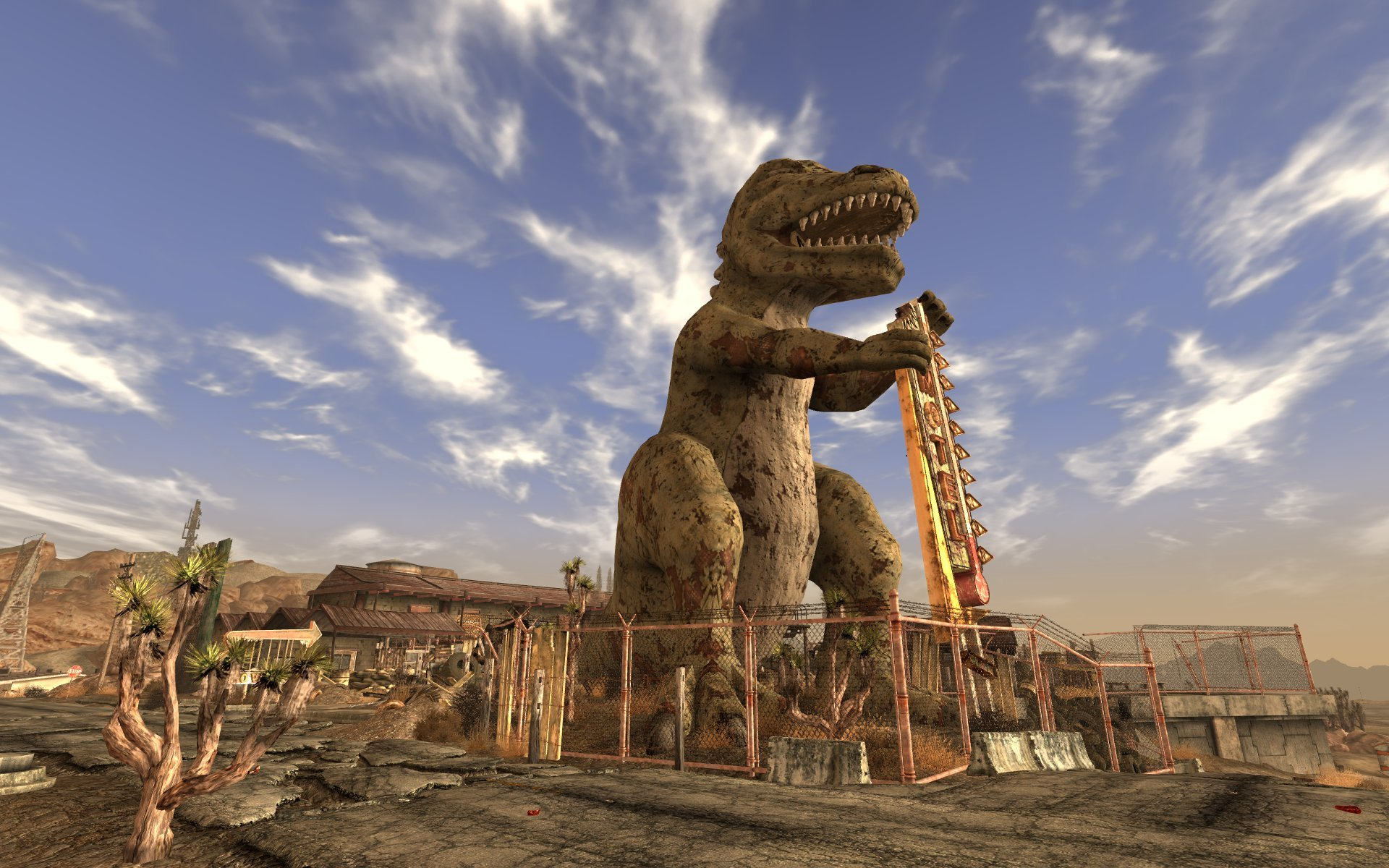 Dinky the t rex fallout wiki fandom powered by wikia for T rex location