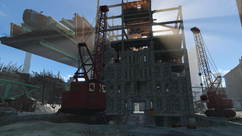 FO4 Cambridge construction site