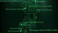 Arlington Library Media Archives map