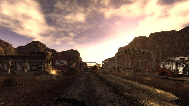 File:Mojave Outpost at nightfall.jpg