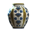 Empty floral barrel vase.png