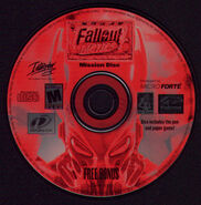 Fallout Tactics bonus CD