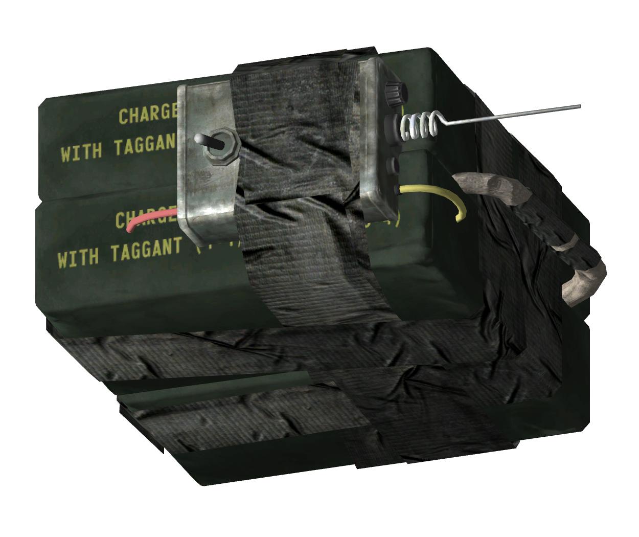 Взрывчатка C-4 — Убежище