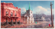 Art of Fo4 Concord Church
