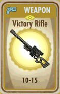 FoS Victory Rifle Card