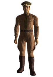 General Olivers uniform