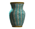 Empty teal barrel vase.png