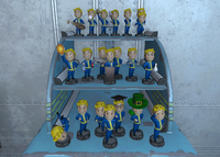 FO4 Vault 81 Bobblehead Display