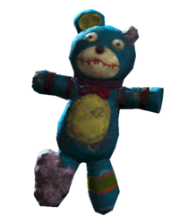 Souvenir teddy bear